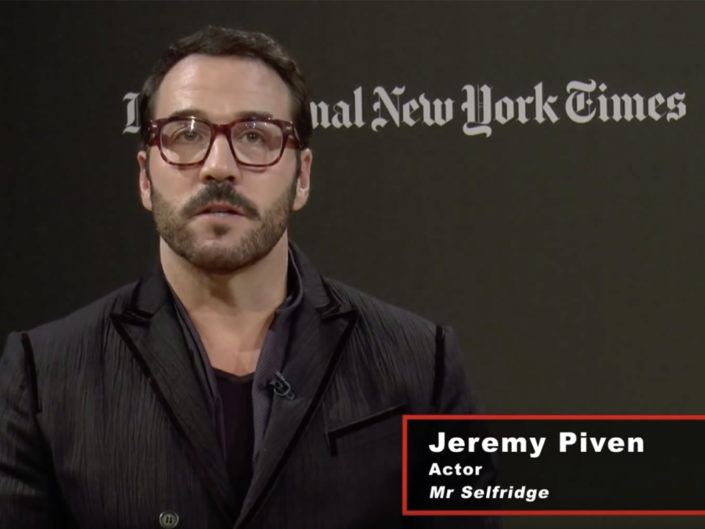 Jeremy Piven  New York Times Interview
